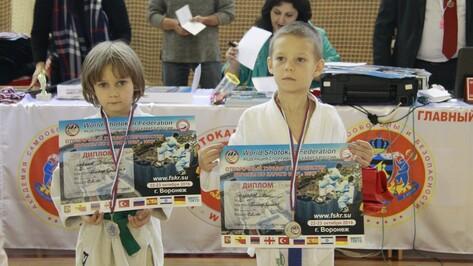Юные хохольские каратисты стали призерами Первенства Европы