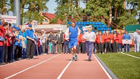 Аннинцы победили в первой областной спартакиаде пенсионеров