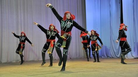 Воронежский народный хореографический ансамбль «Багратиони» отметил 10-летний юбилей