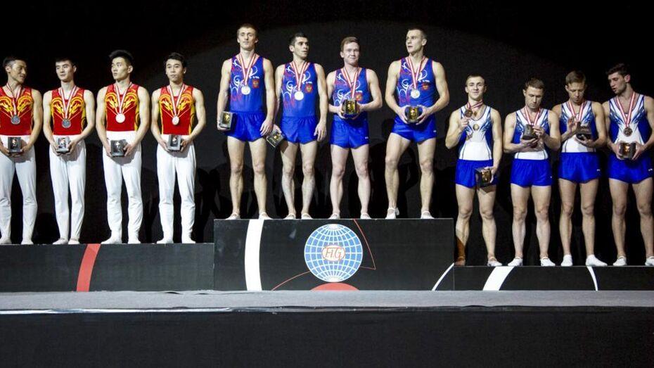 Воронежский батутист Сергей Азарян стал чемпионом мира в командном зачете