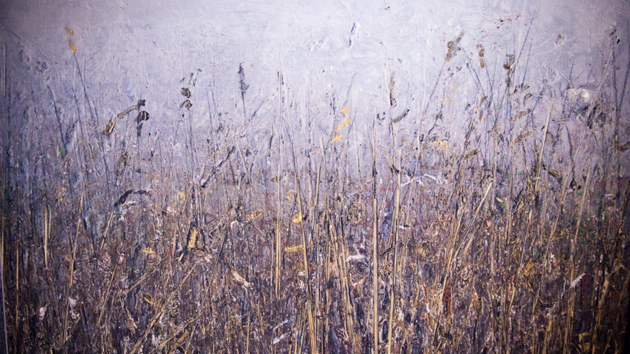 В Воронеже открылась выставка работ Юрия Купера «Черное как ваша земля»