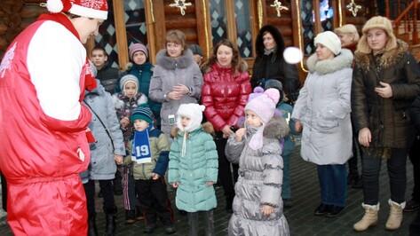 Одиннадцать детей из Борисоглебска побывали в резиденции Деда Мороза