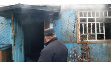 Подгоренские пожарные спасли пенсионерку из огня