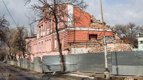 Воронежский облсуд отменил штраф в 750 тыс рублей для снесшего хлебозавод застройщика