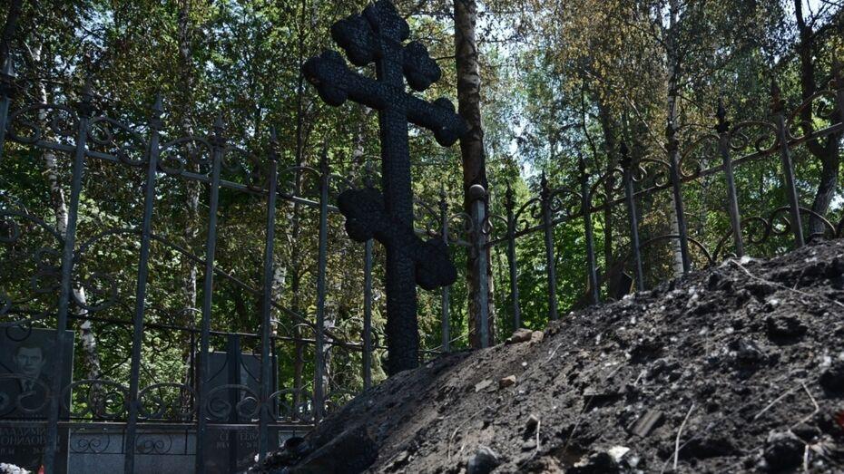 Вандалы разорили более 100 могил на воронежских кладбищах за 3 года