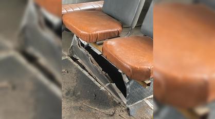 Колесо взорвалось под пассажиром воронежского рейсового автобуса
