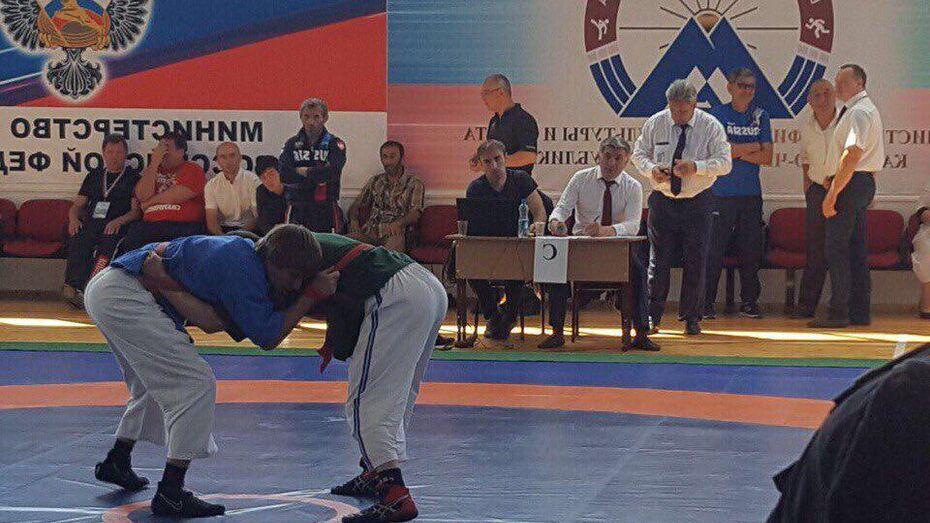 Воронежские спортсмены победили в борьбе на поясах в Карачаево-Черкесии