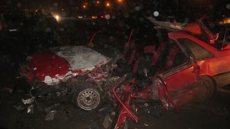 В микрорайоне Подклетное в ДТП погиб 30-летний воронежец