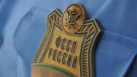 Приставы сняли деньги с зарплатного счета должника в Воронежской области