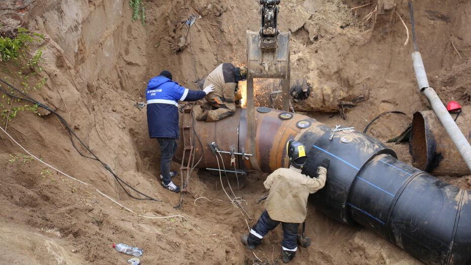 На левом берегу Воронежа досрочно завершили работы на водоподъемной станции