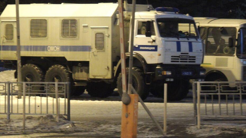 Бойцы спецназа испугали воронежцев поздним вечером в центре города