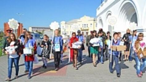 В Лисках в ходе акции «Белый цветок» собрано более 380 тысяч рублей