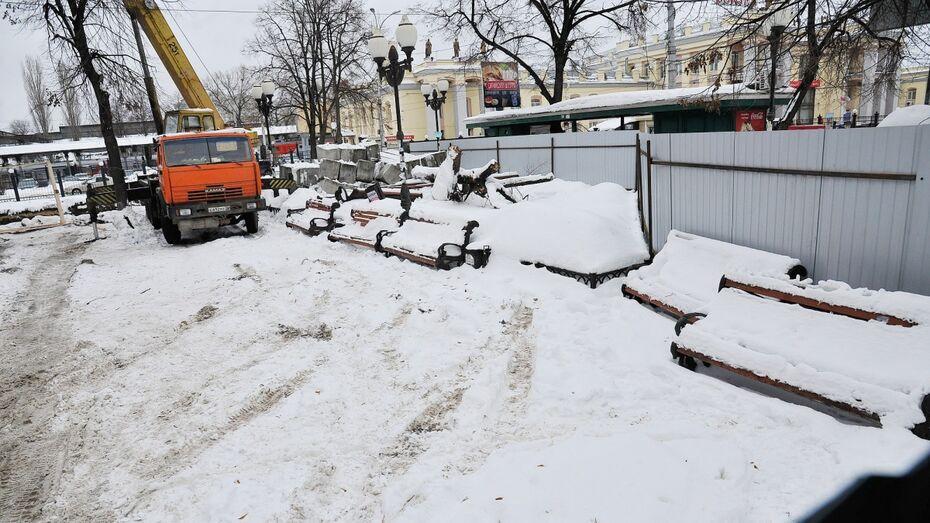 Воронежский губернатор назвал «архитектурным бандитизмом» строительство кафе у вокзала