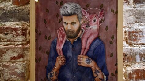Воронежская художница «подружила» акварельных людей и животных
