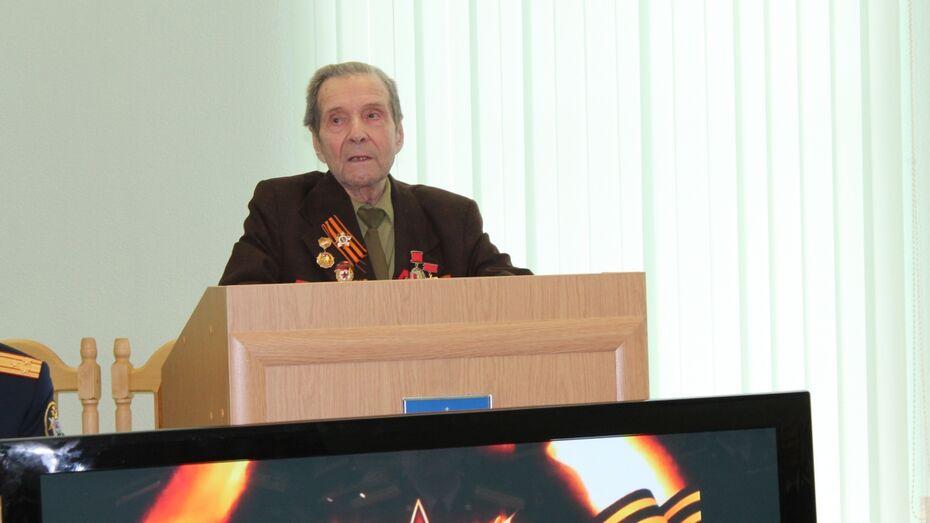 Воронежские следователи отпраздновали годовщину Победы с ветеранами