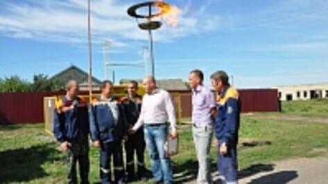 В Эртильском районе газифицировали село и поселок