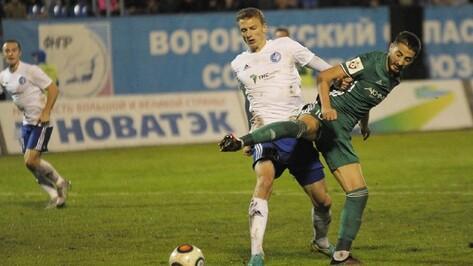 Защитник «Факела» Виталий Шахов: «Мне нравится в Воронеже»