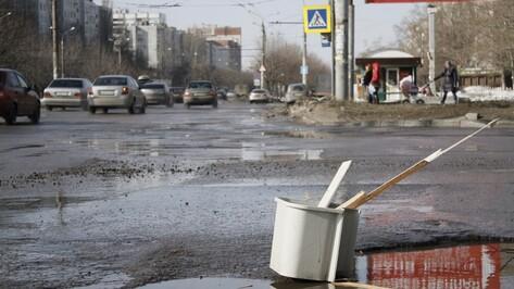 Улицы в центре Воронежа отремонтируют литым асфальтом с помощью новой техники