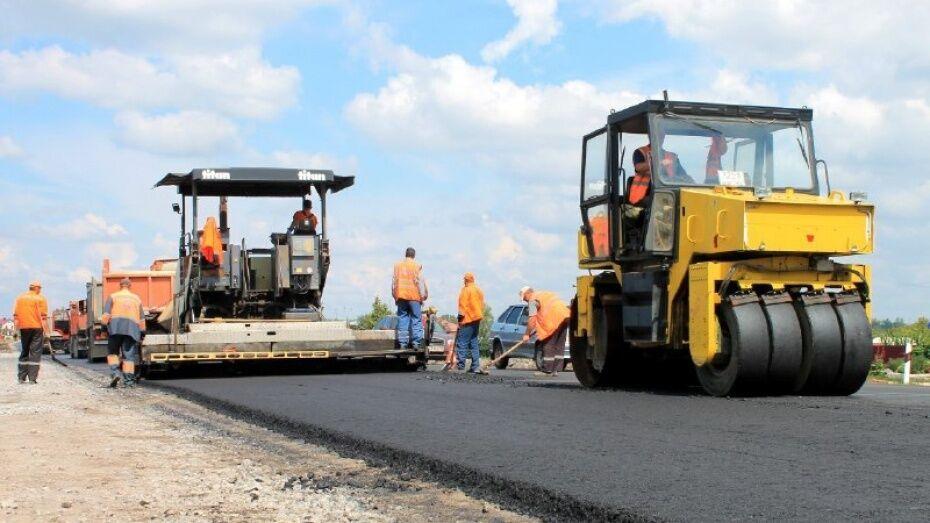 Масштабный ремонт дорог в Воронеже завершили на 96%