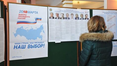 Результаты экзит-полла: воронежцы выбрали Владимира Путина