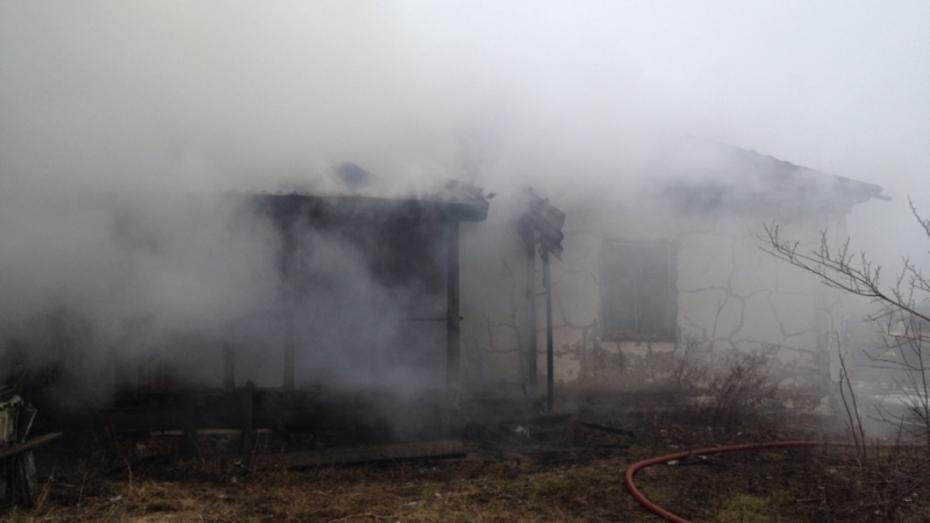 В Воронежской области при пожаре погиб 48-летний мужчина