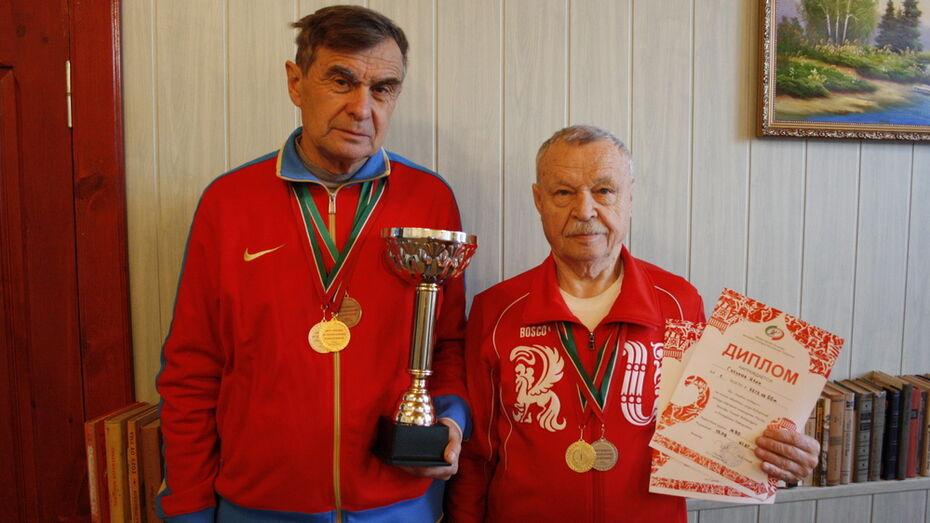 Аннинские ветераны стали чемпионами области по легкой атлетике