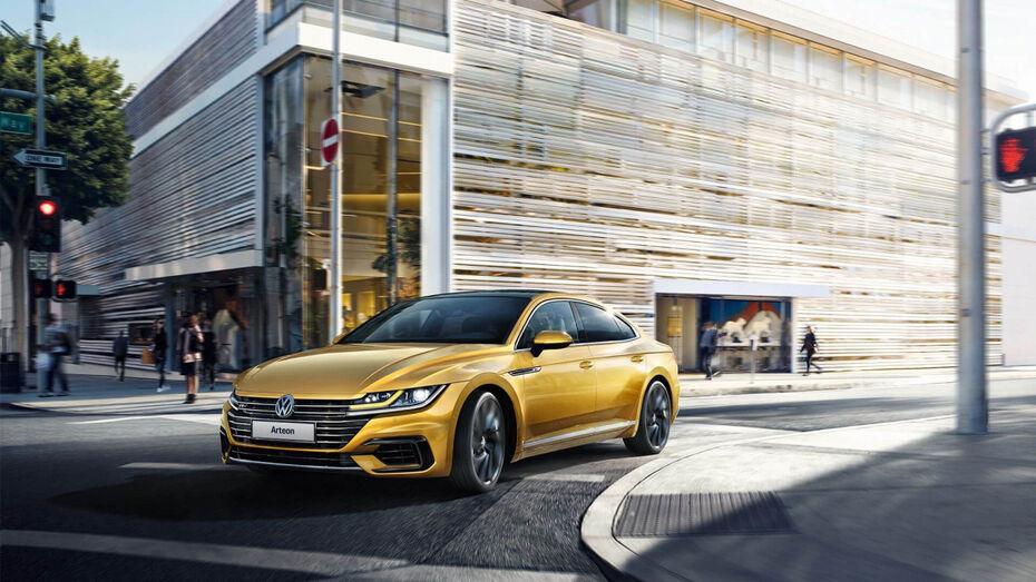 Воронежским автолюбителям доступен для заказа новый Volkswagen Arteon