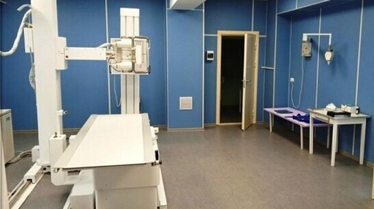 В Грибановской районной больнице капитально отремонтировали рентген-кабинет