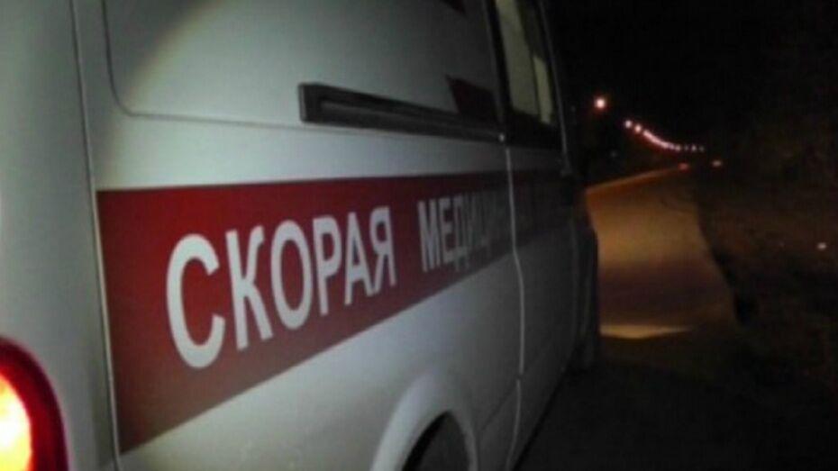 В Воронежской области 2 мужчин пострадали на пожаре в доме
