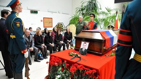 Воронежцы пришли проститься с погибшим в Сирии Антоном Ерыгиным
