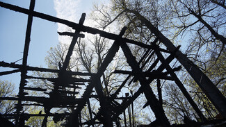 На месте ночного пожара в воронежском селе нашли тело 65-летнего пенсионера