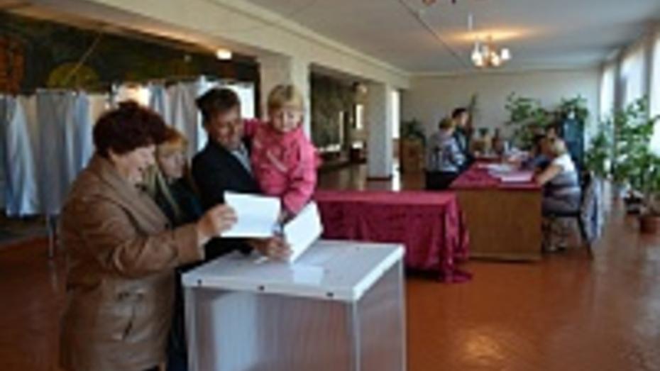 На выборах губернатора проголосовали 73,91% избирателей Петропавловского района