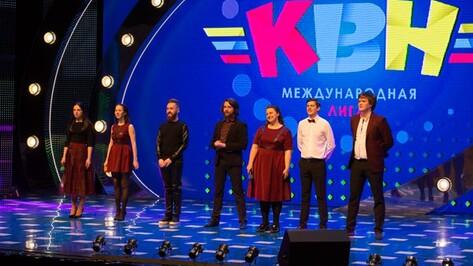 Воронежская команда вышла в четвертьфинал Международной телевизионной лиги КВН