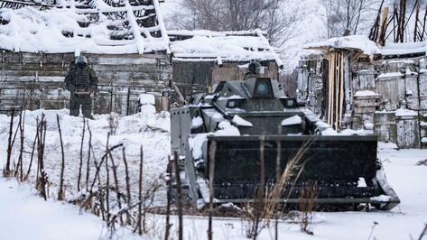 Робот-сапер помог военным инженерам в Воронежской области