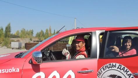 Чемпион ралли «Дакар» Хироши Масуока испытал Mitsubishi на трассе под Воронежем