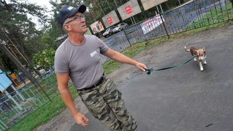 Воронежский зоозащитник и его пес Макс дошли до президента и Госдумы