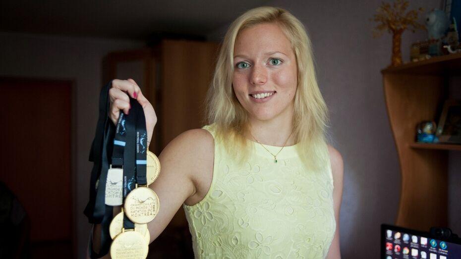 Уроженка Воронежа взяла два «золота» и «серебро» на чемпионате Европы по плаванию