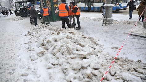 Парковку на 2 центральных улицах Воронежа запретят ночью 18 и 19 марта