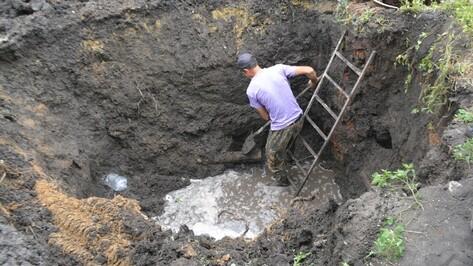В Калаче порыв трубы оставил без воды жителей 24 домов