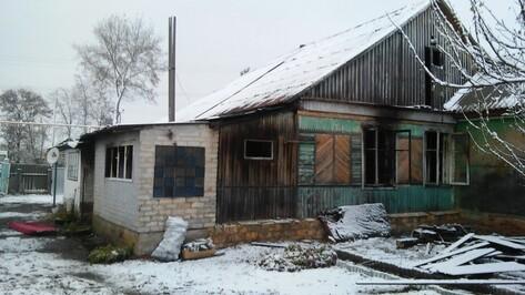 В Ольховатском районе во время пожара погибла 51-летняя женщина