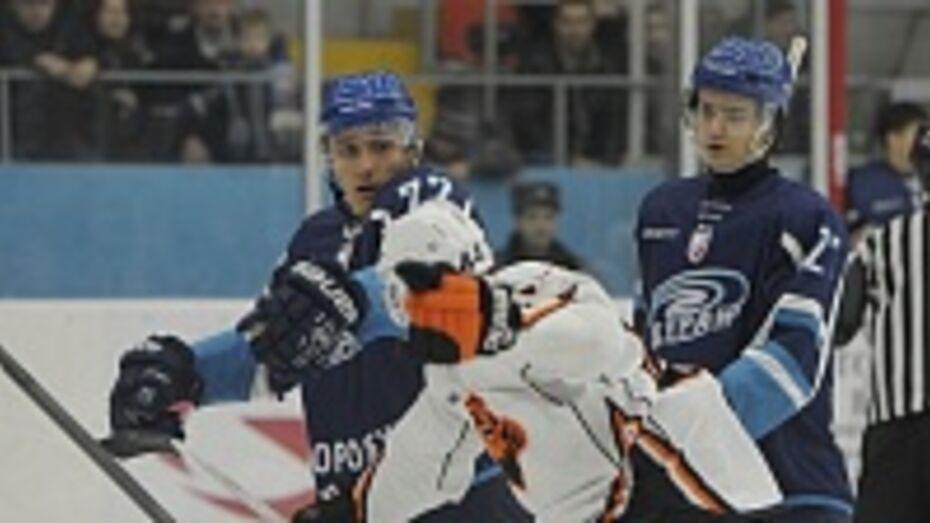 Хоккеист «Бурана» Александр Щербина стал лучшим нападающим недели ВХЛ