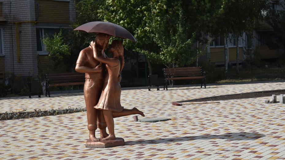 В Поворино обустроили зону отдыха «Место встречи»