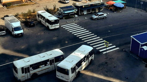 Для безопасности пешеходов в воронежском микрорайоне Электроника появился новый переход