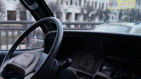 Воронежская автоледи на микроавтобусе сбила на переходе горожанку
