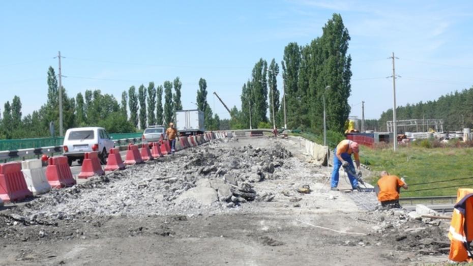 В Рамонском районе на трассе «Дон» отремонтируют виадук