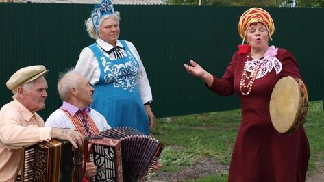 В семилукском селе организовали собственный фольклорный фестиваль