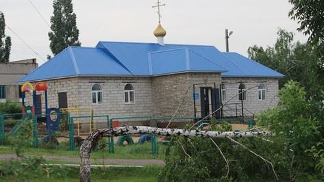 В Воронежской области выпал град величиной с голубиное яйцо