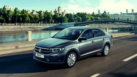Воронежским автолюбителям представили новый Volkswagen Polo в кузове лифтбек