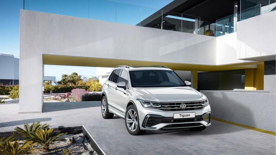 Воронежским автолюбителям представили новый Volkswagen Tiguan в 4 комплектациях