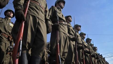 В Воронеже реконструкцию Парада 1941 года перенесли из-за угрозы теракта